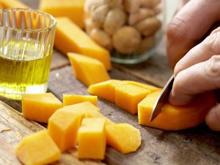 Rehrücken mit Kräuter-Nuss-Kruste: Zubereitungsschritt 5