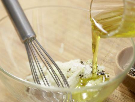 Rehrücken mit Senfkartoffeln: Zubereitungsschritt 7