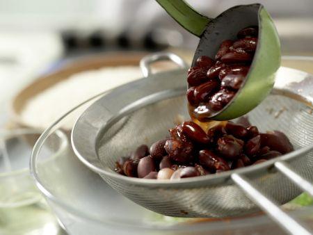 Reis mit Bohnen: Zubereitungsschritt 3