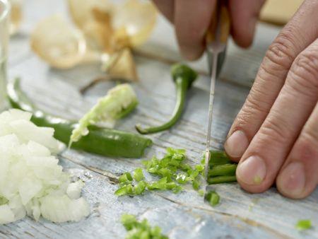 Reis mit Bohnen: Zubereitungsschritt 5