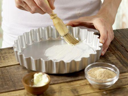 Reis-Rhabarber-Tarte: Zubereitungsschritt 4