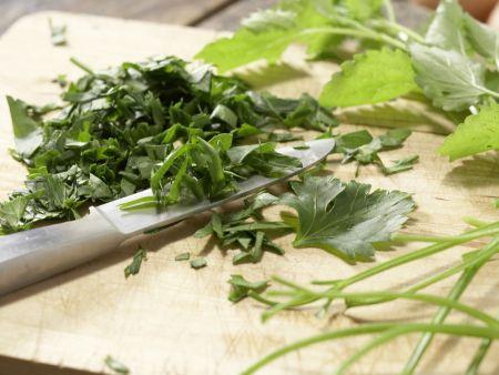 Reis-Zucchini-Puffer: Zubereitungsschritt 2