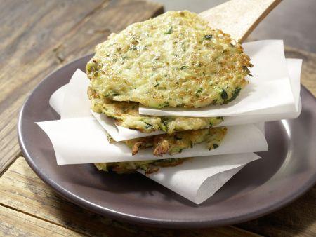 Reis-Zucchini-Puffer: Zubereitungsschritt 6