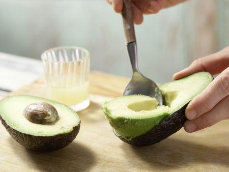 Reisflockenbrei mit Avocado: Zubereitungsschritt 2