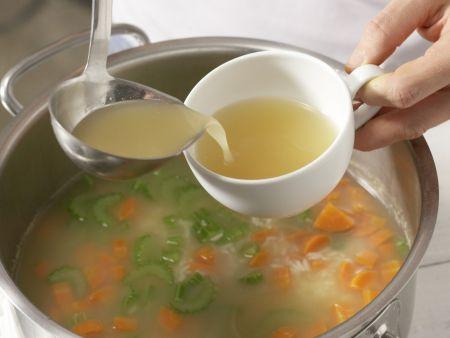 Reissuppe auf griechische Art: Zubereitungsschritt 5