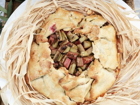 Rhabarber-Crostata
