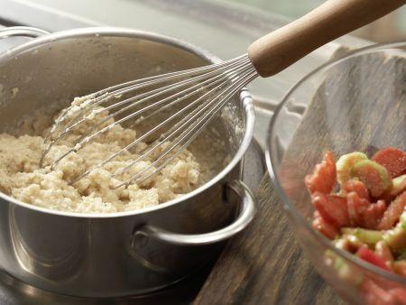 Rhabarber-Limetten-Muffins: Zubereitungsschritt 3