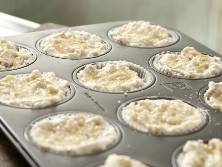 Rhabarber-Limetten-Muffins: Zubereitungsschritt 7