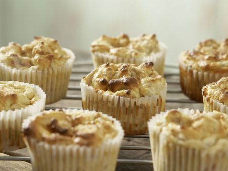 Rhabarber-Limetten-Muffins: Zubereitungsschritt 8