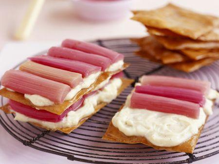 Rhabarber-Vanille-Sandwiches