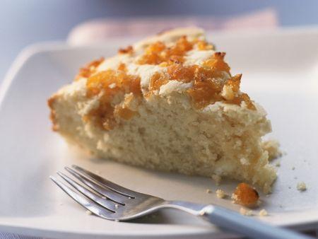 Ricotta-Aprikosen-Kuchen
