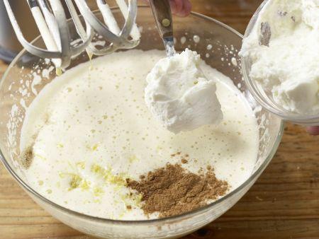 Ricotta-Quark-Kuchen: Zubereitungsschritt 4