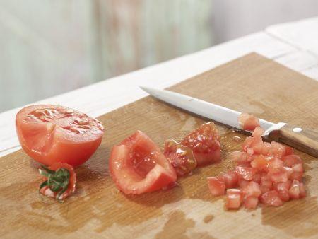 Ricotta-Tomaten-Sandwich: Zubereitungsschritt 1