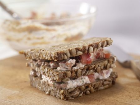 Ricotta-Tomaten-Sandwich: Zubereitungsschritt 3