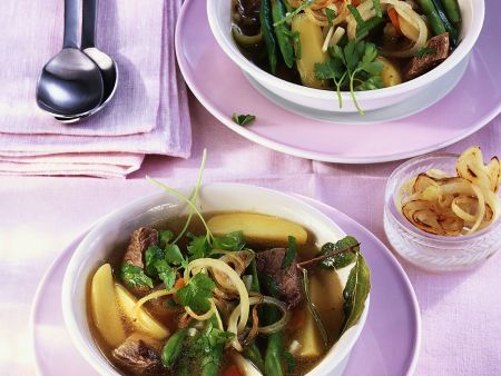 Rezept: Rindfleisch-Gemüseeintopf