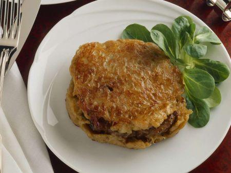 Rindfleisch im Kartoffelmantel