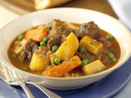 Rindfleisch-Kartoffel-Topf