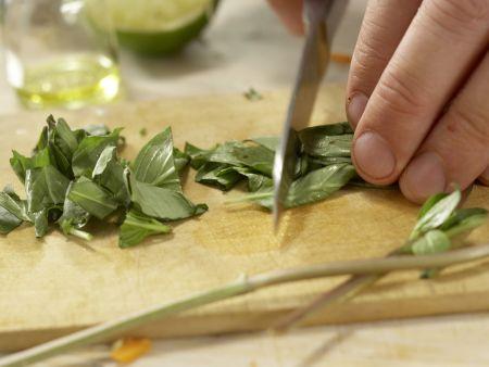 Rindfleisch-Shiitake-Wok: Zubereitungsschritt 12