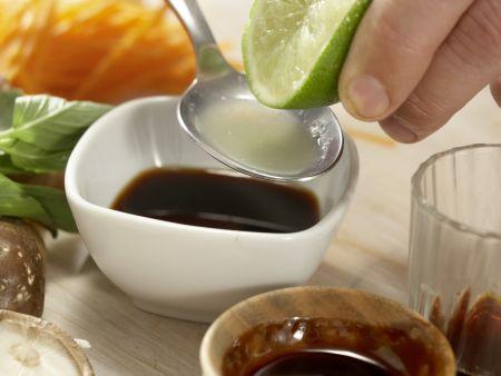 Rindfleisch-Shiitake-Wok: Zubereitungsschritt 6