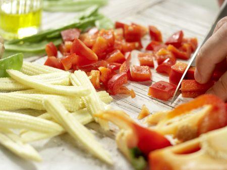 Rindfleisch aus dem Wok: Zubereitungsschritt 3
