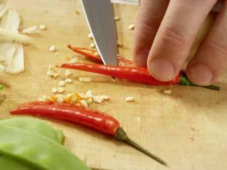 Rindfleisch aus dem Wok: Zubereitungsschritt 7
