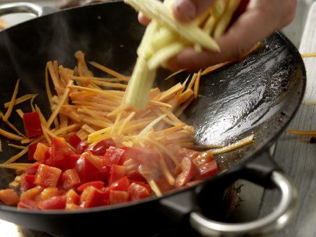 Rindfleisch aus dem Wok: Zubereitungsschritt 9