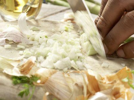 Risotto mit Erbsen: Zubereitungsschritt 3