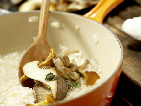 Risotto mit Pilzen – smarter: Zubereitungsschritt 10