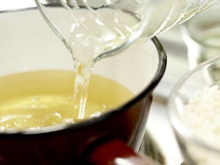 Risotto mit Pilzen – smarter: Zubereitungsschritt 3