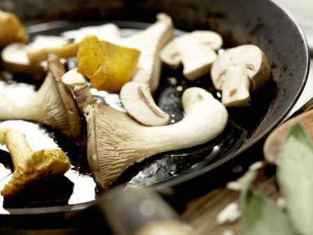 Risotto mit Pilzen – smarter: Zubereitungsschritt 8