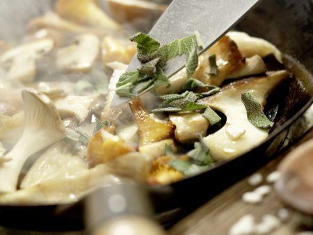Risotto mit Pilzen – smarter: Zubereitungsschritt 9