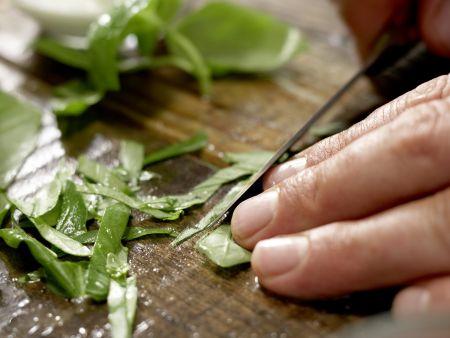 Risotto mit Tintenfisch: Zubereitungsschritt 11
