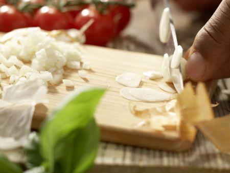 Risotto mit Tomaten: Zubereitungsschritt 2