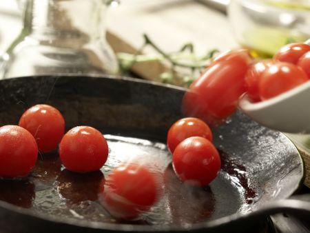Risotto mit Tomaten: Zubereitungsschritt 9