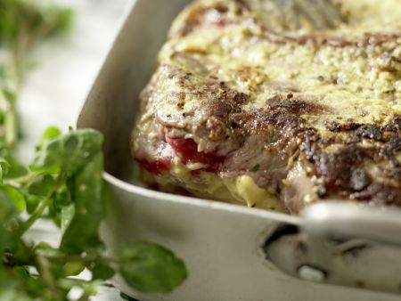 Roastbeef mit Mandel-Remoulade: Zubereitungsschritt 8