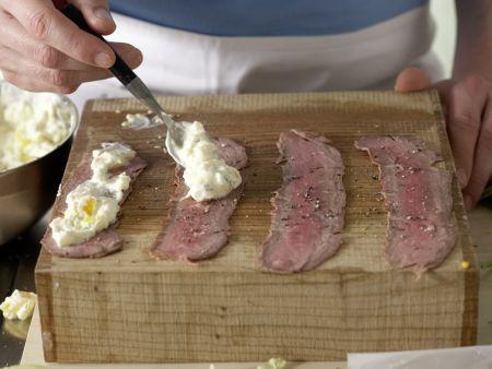 Roastbeef-Röllchen: Zubereitungsschritt 5