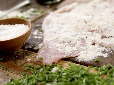 Rochenflügel mit Kapernsauce: Zubereitungsschritt 8