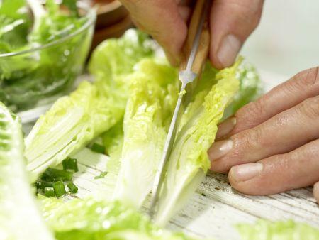 Römersalat mit Roquefort: Zubereitungsschritt 8