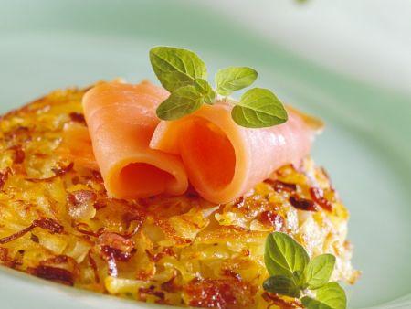 Rösti mit Sauerkraut