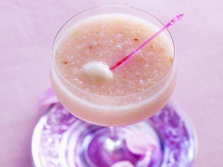Rose-Cocktail mit Litchi