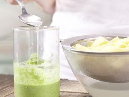 Rosenkohl-Pasta: Zubereitungsschritt 8