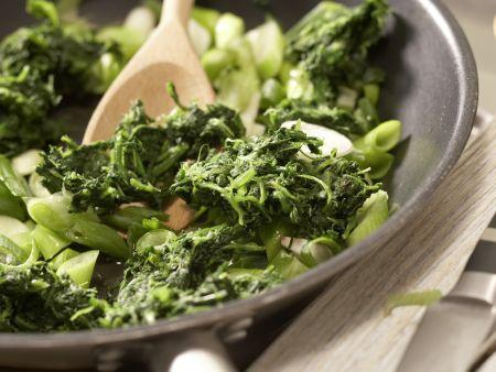 Rotbarsch-Spinat-Auflauf: Zubereitungsschritt 6