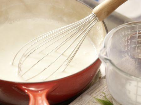 Rotbarsch-Spinat-Auflauf: Zubereitungsschritt 8