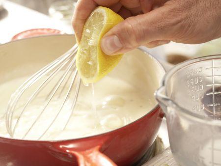 Rotbarsch-Spinat-Auflauf: Zubereitungsschritt 9
