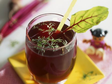 Rote-Bete-Fenchel-Saft