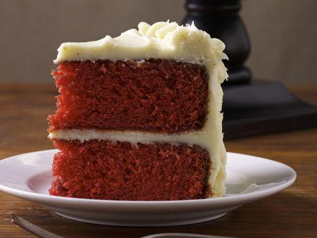 Rezept: Roter Samtkuchen (Red Velvet Cake)