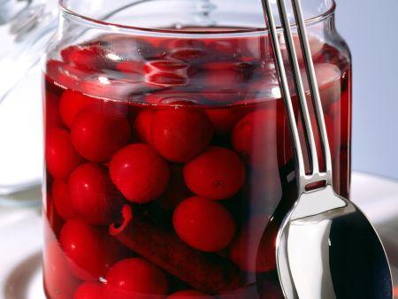 Rotweinkirschen
