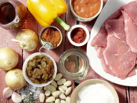 Rouladen auf marokkanische Art: Zubereitungsschritt 1