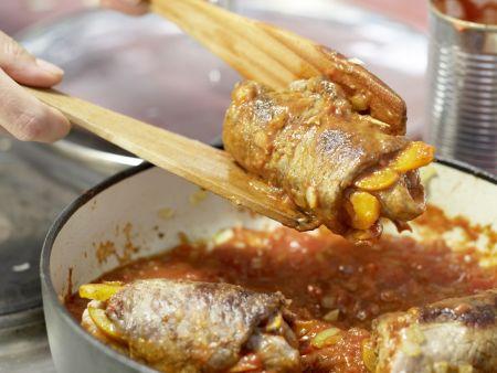 Rouladen auf marokkanische Art: Zubereitungsschritt 12