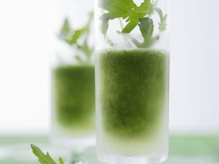 Rucola-Cocktail mit Gin